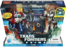 Transformers Prime Entertainment Pack (First Edition - Optimus Prime & Megatron with Raf, Jack, & Miko)