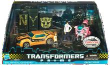 Transformers Prime Bumblebee, Arcee, Jack & Raf (NYCC Exclusive)