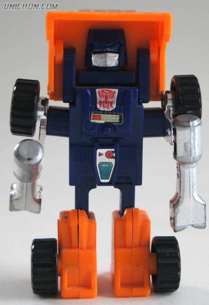 Transformers Generation 1 Huffer toy