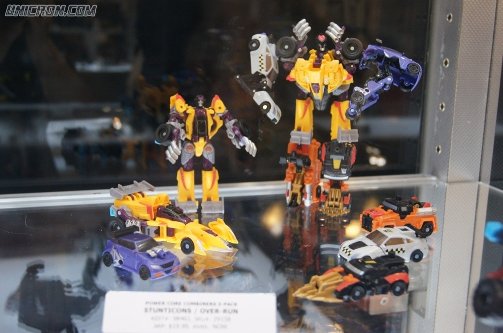 Transformers Power Core Combiners Over-Run with Stunticons toy