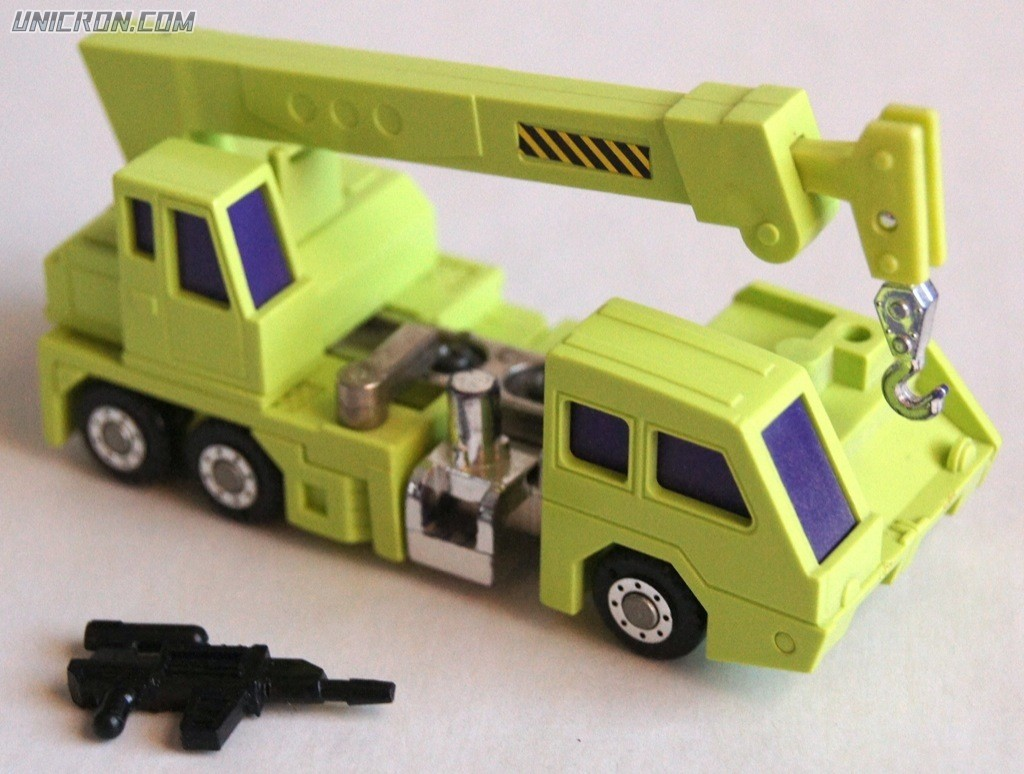 Transformers Generation 1 Hook (Constructicon) toy