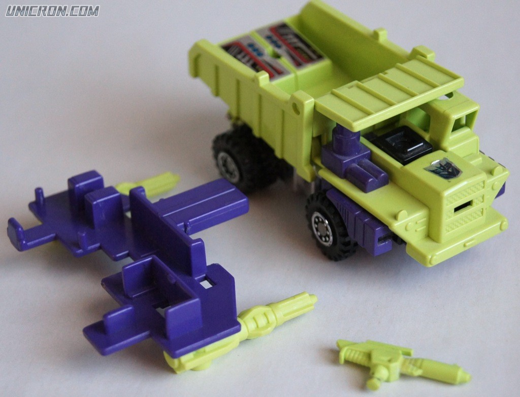 Transformers Generation 1 Long Haul (Constructicon) toy
