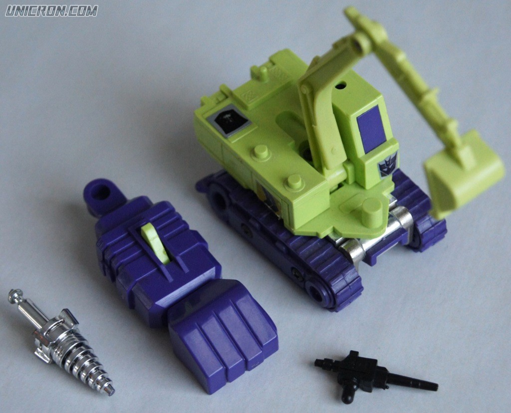Transformers Generation 1 Scavenger (Constructicon) toy