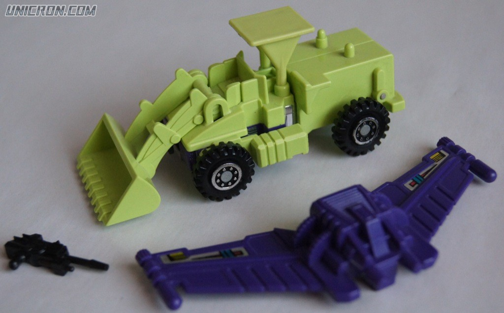 Transformers Generation 1 Scrapper (Constructicon) toy