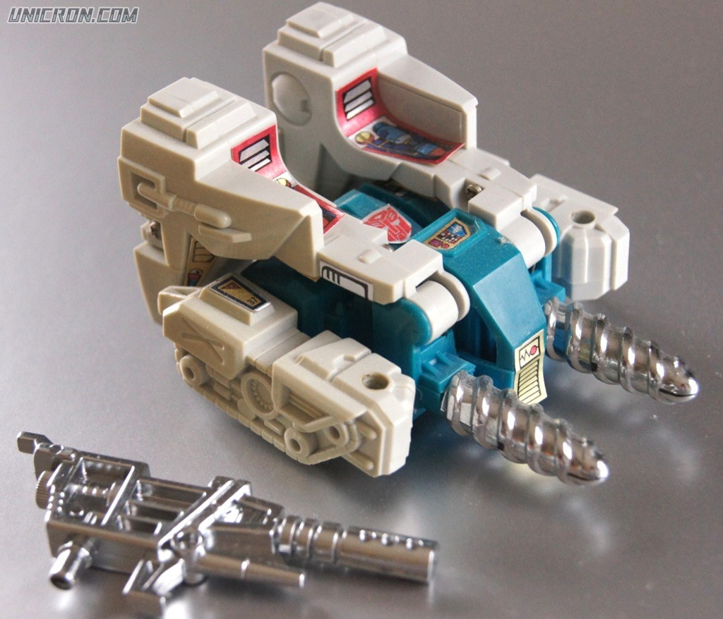 Transformers Generation 1 Twin Twist toy
