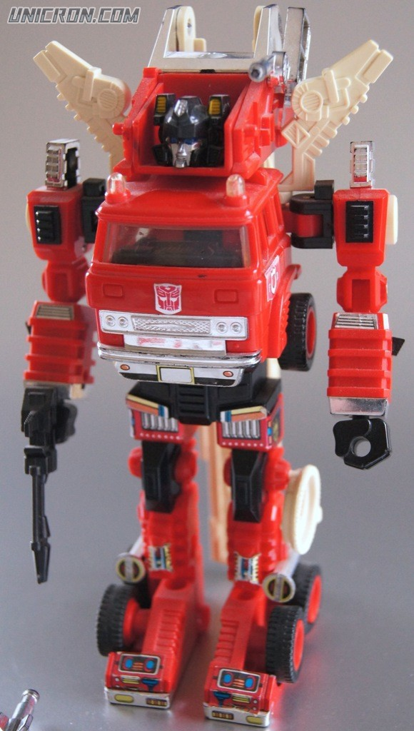 Transformers Generation 1 Inferno toy