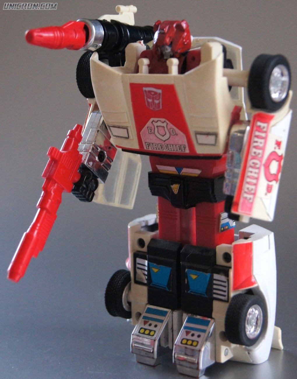 Transformers Generation 1 Red Alert toy