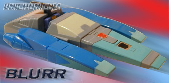 Transformers Generation 1 Blurr toy