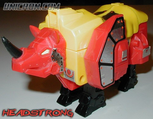 Transformers Generation 1 Headstrong (Predacon) toy