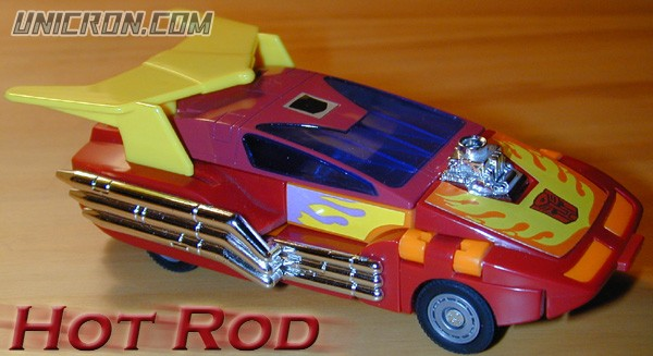 Transformers Generation 1 Hot Rod toy