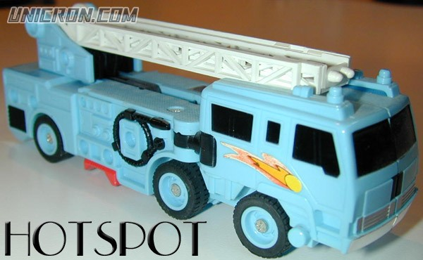 Transformers Generation 1 Hot Spot (Protectobot) toy