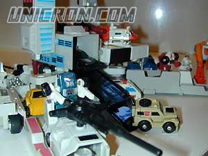Transformers Generation 1 Metroplex toy