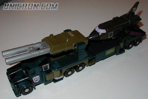 Transformers Generation 1 Onslaught (Combaticon) toy
