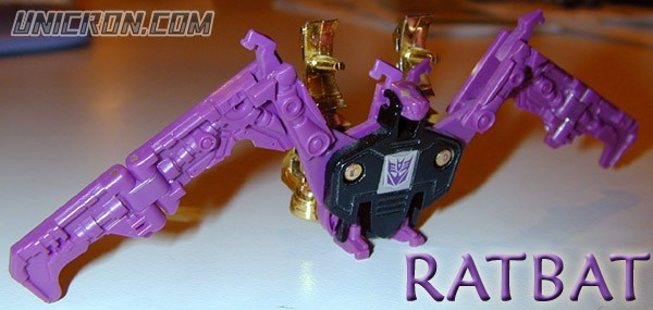 Transformers Generation 1 Ratbat and Frenzy toy