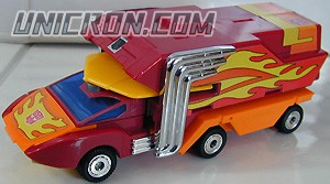 Transformers Generation 1 Rodimus Prime toy
