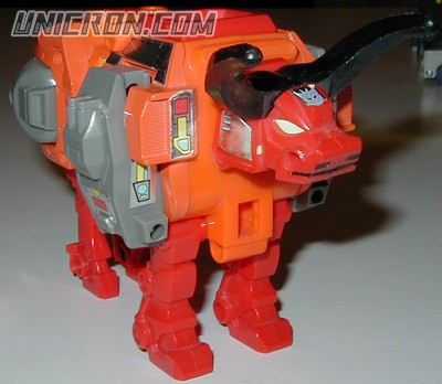 Transformers Generation 1 Tantrum (Predacon) toy