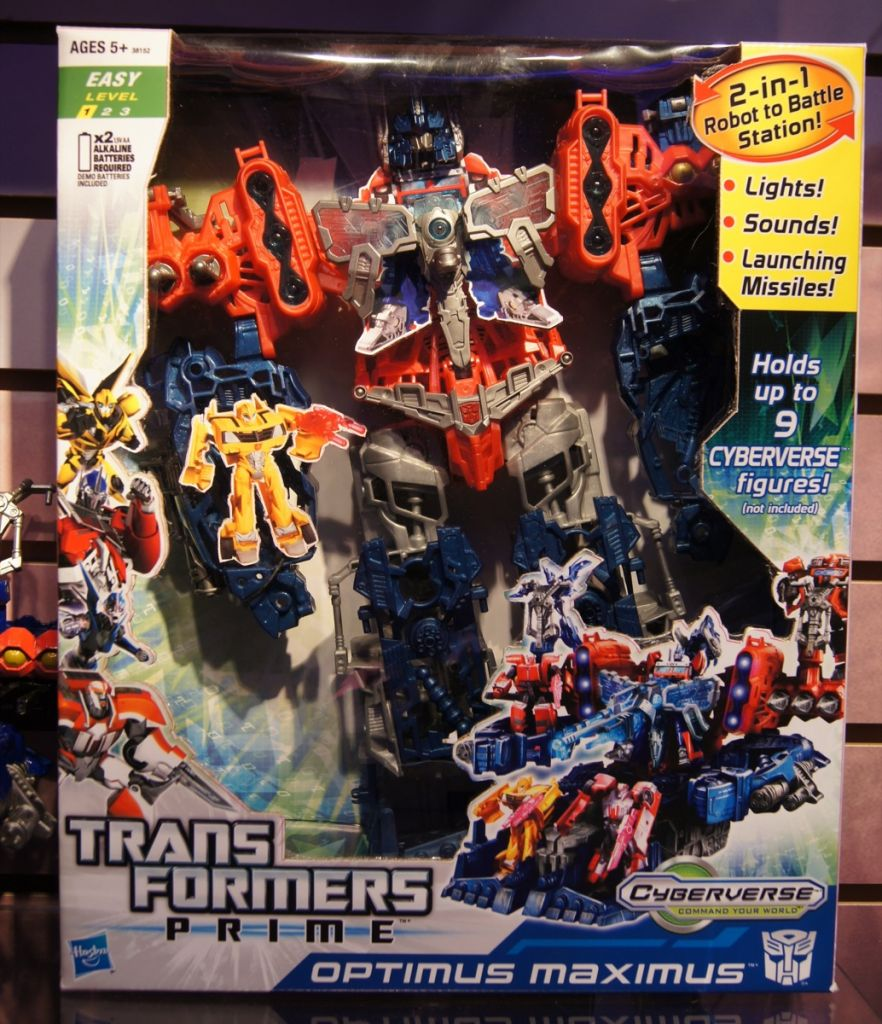 Transformers Cyberverse Optimus Maximus toy