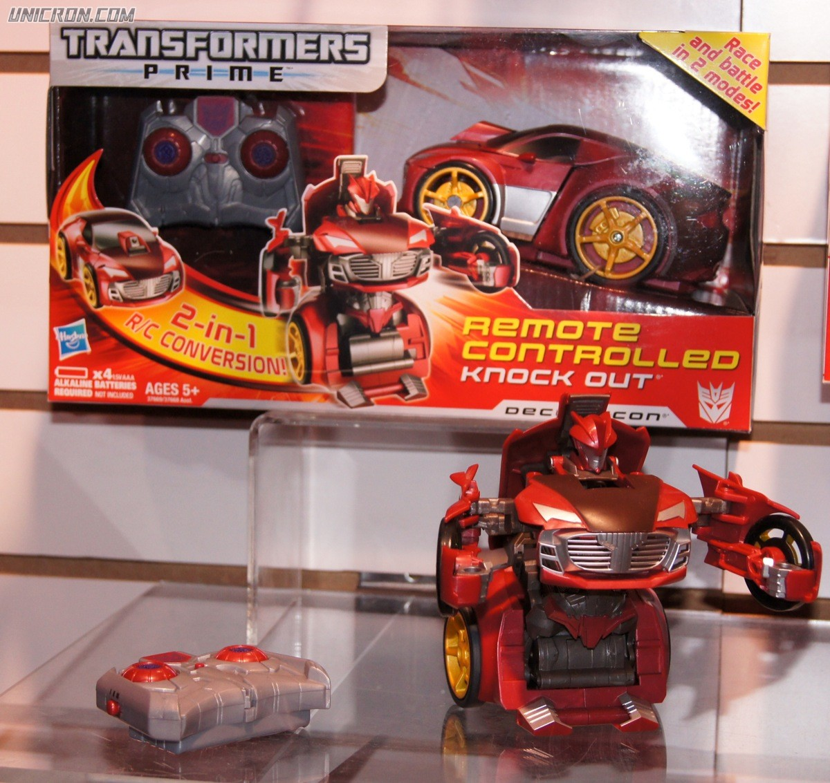 Transformers Prime Knock Out (Remote Control) toy