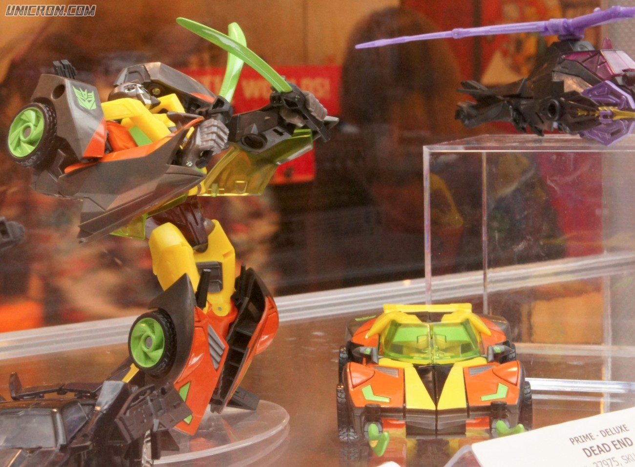 Transformers Prime Dead End toy