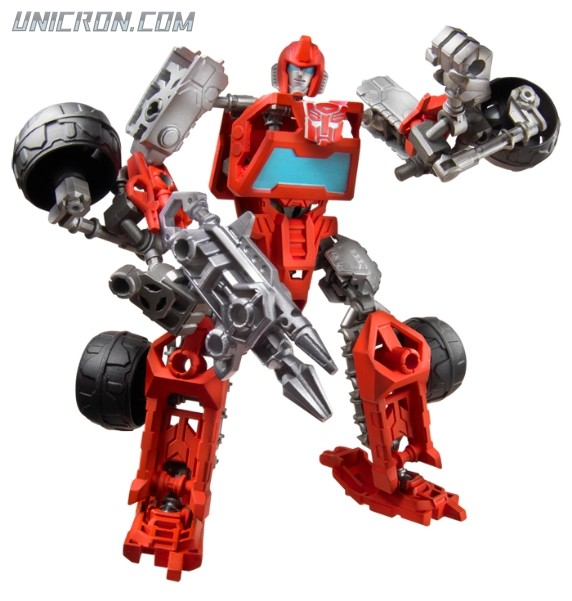 Transformers Construct-Bots Ironhide toy
