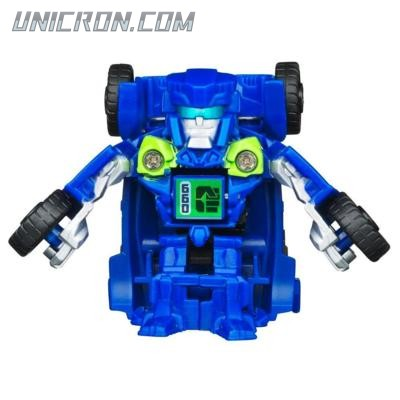 Transformers Bot Shots Autobot Topspin toy