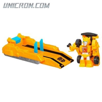 Transformers Bot Shots Jump Shot Bumblebee Launcher toy