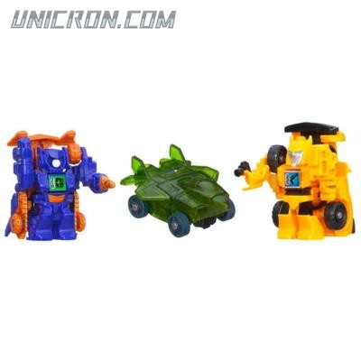 Transformers Bot Shots Bumblebee, Shockwave, Skyquake (Bot Shots 3-pack) toy