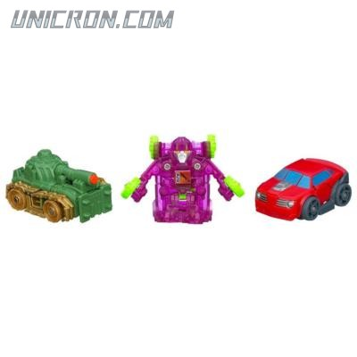 Transformers Bot Shots Cliffjumper, Brawl, Dirt Boss (Bot Shots 3-pack) toy