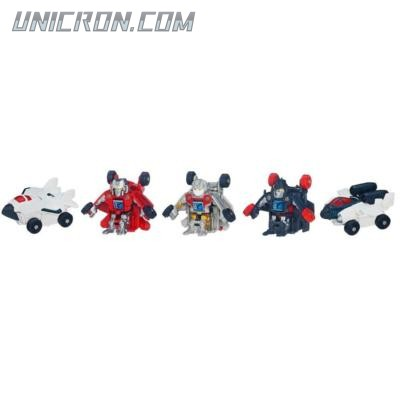Transformers Bot Shots Autobot Air Force: Silverbolt, Quicksilver, Firestrike, Skydive, Air Raid toy
