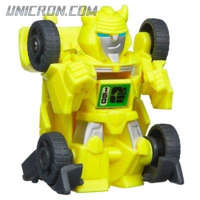 Transformers Bot Shots Flip Shot Bumblebee toy