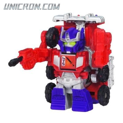 Transformers Bot Shots Jump Shot Optimus Prime toy