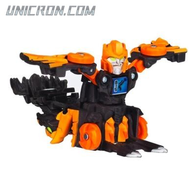 Transformers Bot Shots Spin Shot Scourge toy