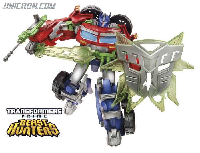 Transformers Prime Optimus Prime (2014 Beast Hunters Voyager) toy