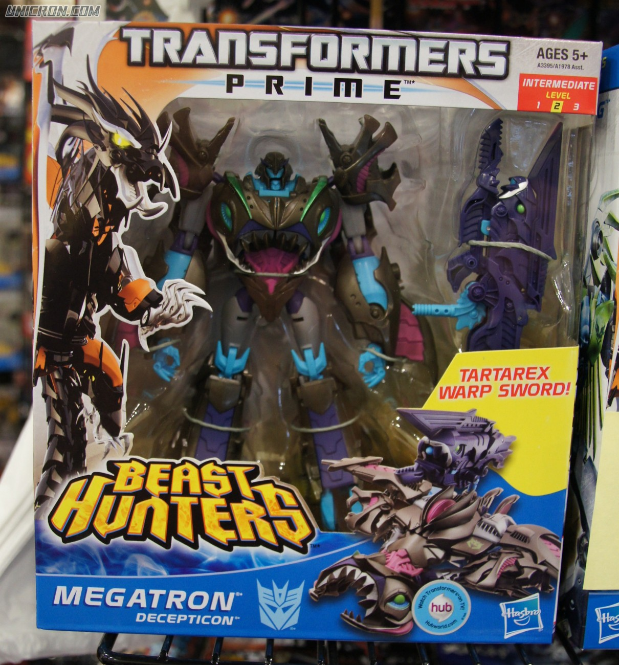 Transformers Prime Megatron (Beast Hunters) toy