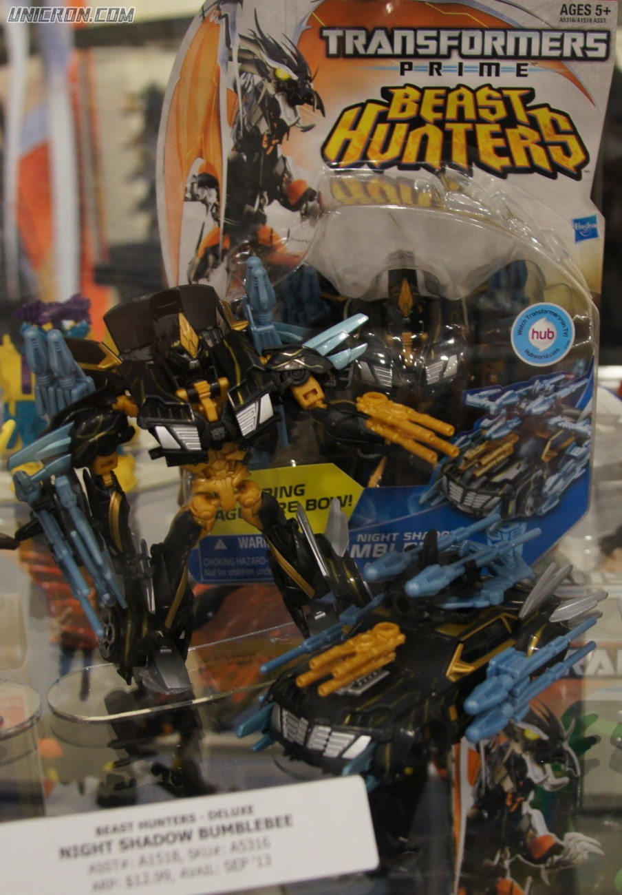 Transformers Prime Night Shadow Bumblebee toy