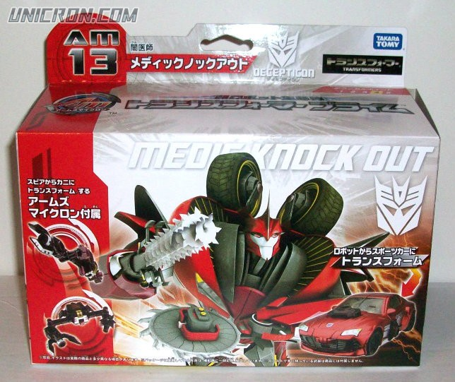 Transformers Prime (Arms Micron - Takara) AM-13 Knock Out with Gra toy