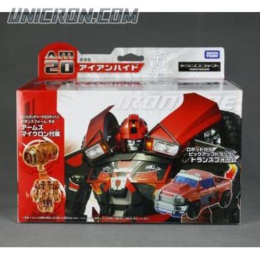 Transformers Prime (Arms Micron - Takara) AM-20 Ironhide with Iro toy