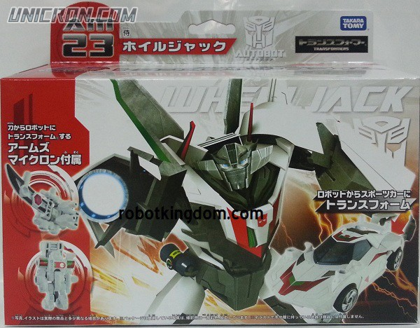 Transformers Prime (Arms Micron - Takara) AM-23 Wheeljack with Wuji toy