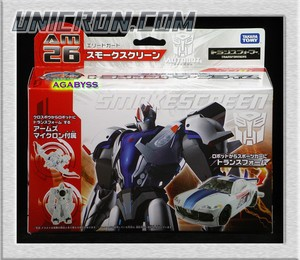 Transformers Prime (Arms Micron - Takara) AM-26 Smokescreen with S.2 toy