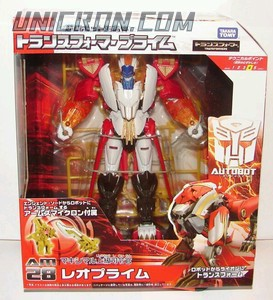 Transformers Prime (Arms Micron - Takara) AM-28 Leo Prime with L.P. toy