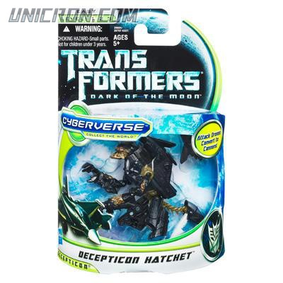 Transformers Cyberverse Decepticon Hatchet toy