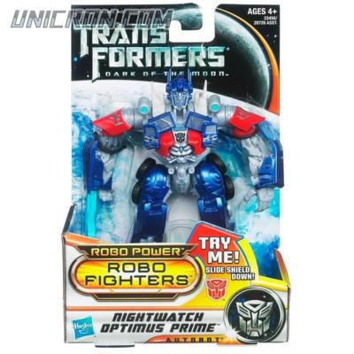 Transformers 3 Dark of the Moon Nightwatch Optimus Prime (Robo Fighters) toy
