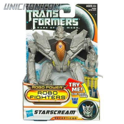 Transformers 3 Dark of the Moon Starscream (Robo Fighters) toy