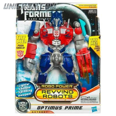 Transformers 3 Dark of the Moon Optimus Prime  (Robo Power Revving Robots) toy