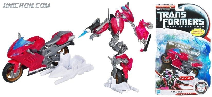 Transformers 3 Dark of the Moon Arcee toy