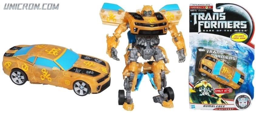 Transformers 3 Dark of the Moon Bumblebee toy