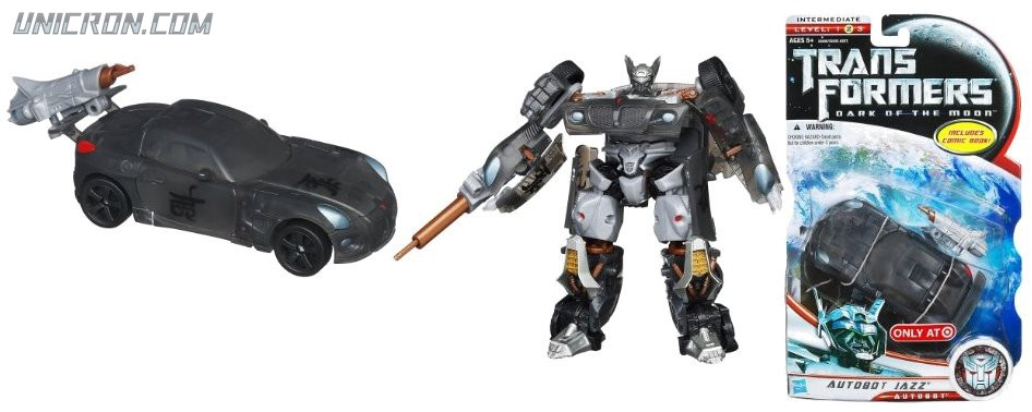 Transformers 3 Dark of the Moon Autobot Jazz toy