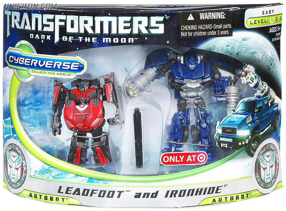 Transformers Cyberverse Leadfoot and Ironhide (Target exclusive) toy