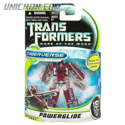 Transformers Cyberverse Powerglide toy
