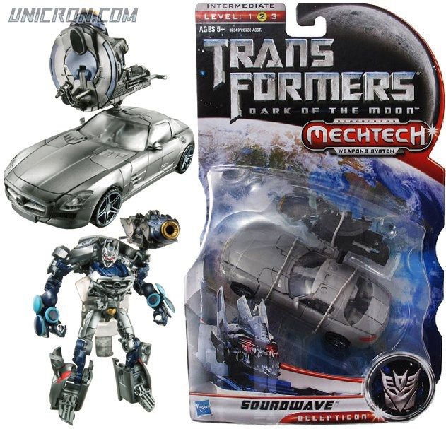 Transformers 3 Dark of the Moon Soundwave (Unreleased Deluxe) toy
